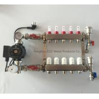 China Stainless Mixing Manifold for Floor and Under Floor Heating System for sale