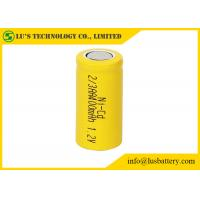 Wholesale NICD 1.2V 2/3AA 400mah Nickel Cadmium Nicd Battery Low Inner Resistance from china suppliers