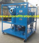Mobile Trailer Vacuum Transformer Oil Purification Dehydration Machine