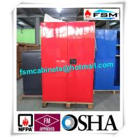Best Chemical Safety Paint Storage Cabinets Double Doors For Hazardous Material wholesale
