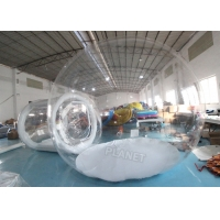 Wholesale Inflatable Clear Igloo Dome Tent Inflatable Transparent Bubble Tent from china suppliers