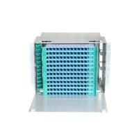 """Wholesale 144 Cores Optical Fiber Distribution Frame 19"""" Rack Mounted With Pigtails And Adaptors from china suppliers"""