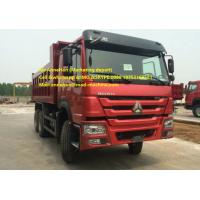 Wholesale Q235 Material Heavy Duty Dump Truck , 10 Wheeler 20 Tons 6X4 Tipper Truck from china suppliers