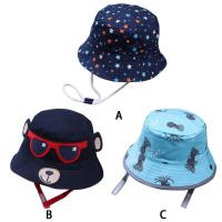 Wholesale ACE new brand custom private brand cotton with digital printed baby bucket hat cap upf 50+ from china suppliers