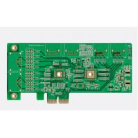 China 4 Layer Immersion Gold PCB 200mm*110mm  1.6mm  Thickness Through-Hole Soldering on sale