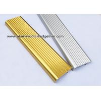 Wholesale F Type Toothed Anti - Skid  Metal Aluminum Stair Nosing For Tile from china suppliers