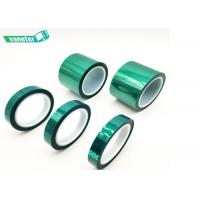 Wholesale Green Polyester Masking Tape High Abrasion Silicone Adhesive Feature from china suppliers