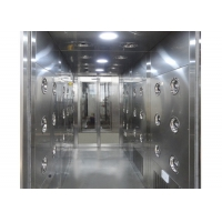 Wholesale Automatic Induction 30m/Sec Cleanroom Air Shower Stainless Steel from china suppliers