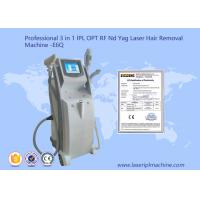 Quality 2500W RF Shr Hair Removal Machine With 10.4 Inch Touch Color Screen for sale
