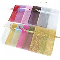 Mini Sized Drawstring Jewelry Pouch 25x25cm Dimension For Gift Packaging