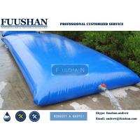 Fuushan 10000L 20000L 25000L Water Tank Flexible Fuel Tanks Above Ground for sale