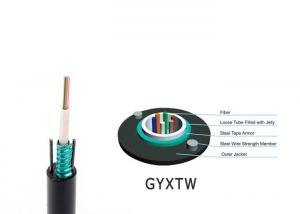 Wholesale FTTH Backbone GYXTW Bulk Outdoor Fiber Optic Cable from china suppliers
