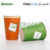 Wholesale 12oz 16oz 22oz Disposable Cold Paper Cups , Custom Disposable Drinking Cups Eco Friendly from china suppliers