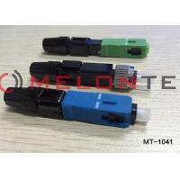 Buy cheap FTTH SC UPC-P Single Mode Fiber Optic Connector Adapter For CATV Network from wholesalers