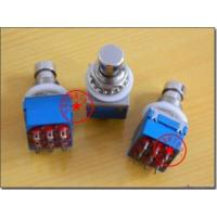China 3pdt Stomp/foot Ture Bypas Switches 9 Pin for sale