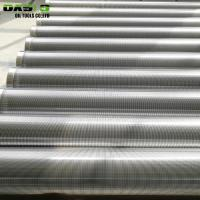 China Galvanized Surface Stainless Steel Well Screen Pipe Non Alloy For Drill Pipe for sale