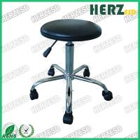 Wholesale 450-610mm Height Adjustable Lab Stool , PU Leather Surface ESD Work Stools from china suppliers