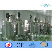 Jacketed Mixing Tank Stainless Steel Mixing Tank  Opened Double Layer