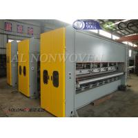 Automatic Double Board Needle Punching Machine For Colorful Embroider Nonwoven