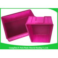 Wholesale Mini Load Euro Containers With Lids , Standard Plastic Stacking Boxes PP Materials from china suppliers