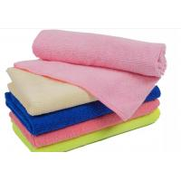 Wholesale 80% polyester +20% polyamide soft and super absorbent 250gsm microfiber towel with promotion price from china suppliers