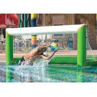 Wholesale Heat welding adults inflatable water polo goal with lead free 1000D pvc tarpaulin from china suppliers