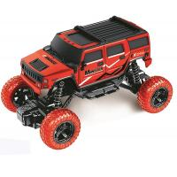 China Wholesale remote control off road hummer truck red color plastic RC off road truck for kids fun favorite 666-261B for sale