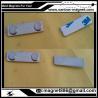 Metal Magnet fastener for badges 45 mm x 13 mm for clothing for sale