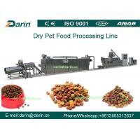 Best High Efficiency Automatic Pellet Pet Food Extruder Machine With CE And ISO9001 wholesale