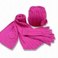 Wholesale Children's Knitwear, Made of Wool Acrylic Knitted Set from china suppliers