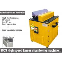 Wholesale 11000 rpm Speed Linear Chamfering Machine , Industrial pipe Bevel Machine from china suppliers