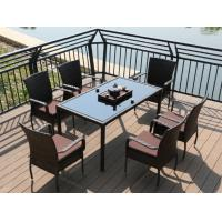 Wholesale New Outdoor Poly Rattan wicker garden table and chairs furniture from china suppliers