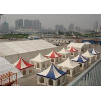 Wholesale Aluminum Marquee Pagoda Party Tent  For Advertising 5m X 5m White Double PVC Coated from china suppliers