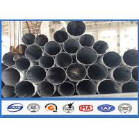Wholesale Galvanized Substation Power Transmission Pole with Steel Q345 Gr50 Material from china suppliers