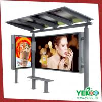 Wholesale 2015 modern stainless steel used advertising hot sale bus shelter lightbox from china suppliers