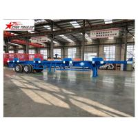 Wholesale Terminal Yard Blue Semi Trailer Truck High Strength And Strong Bearing Capacity from china suppliers