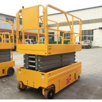Wholesale Upright Movable Hydraulic Lifting Platform Compact Manual Battery Powered from china suppliers