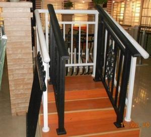 China Extrusion Aluminum Hand Railings / aluminum deck railing For decorative on sale