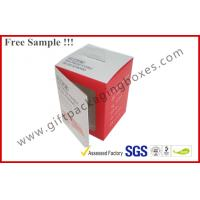 Wholesale Customized Card Paper Electronics Packaging , 350gsm Display Box With Hanger And Window from china suppliers