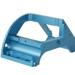 China Custom CNC Machining anodized blue Aluminum parts for sale