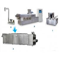Wholesale Soya Bean Food Processing Machinery , Vegetarian Sausage Making Equipment from china suppliers