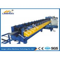Wholesale 75mm Roller Shaft C Z Purlin Roll Forming Machine , C Shape Purlin Making Machine from china suppliers