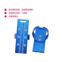 China Dental Endo Ring Ruler High Precision Purple / Blue / Red Color Available for sale