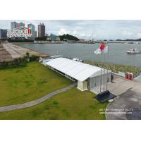 Wholesale Arcum Shape 15x40m   White Color  Outdoor Party Tents  for 500 People Temporary Wedding Party from china suppliers