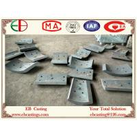 Wholesale ZG50Cr5Mo Martensitic Cr-Mo Steel Chute Liner Plates HRC48 Double-Media Quenching Process from china suppliers