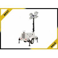 Wholesale Diesel Powered Mobile Light Tower Length 4360mm 320° Mast Rotation  Powder Coated Canopy from china suppliers