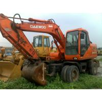 China Good Condition Daewoo wheel excavator used DH130W-V used wheel excavator on sale