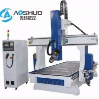 Wholesale Professional 4 Axis Woodworking CNC Machine , Rotary Cnc Router Wood Carving Machine from china suppliers