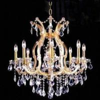 Wholesale Crystal Chandelier with 9 Lights, Measures 660 x 660mm from china suppliers