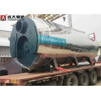 Wholesale 400 Hp Fire Tube Steam Boiler , Heavy Oil Fired Boiler For Food Factory from china suppliers